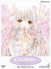Chobits - My Only Person (Vol. 6) DVD, Houko Kuwashima, Crispin Freeman, Tomokaz