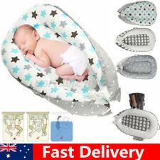 Portable Newborn Baby Nest Lounger Nest Pod Cot Bed Sleeping Babies Bassinet