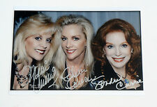 The Runaways Cherie Marie Sondra Currie Triple Signed Autographed 8.x11 Photo
