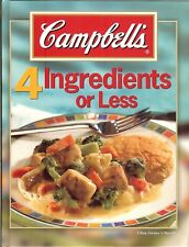 Campbell's 4-Ingredients or Less Recipes - Approx 150 recipes, HB