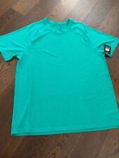 NWT!C9 Champion Men's Duo Dry Breathable Fabric Shirt-Knflk Green Htr-Sz XL
