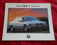 BMW 740i 7 SERIES LIMITED EDITION 1990 6x4 PHOTO CARD L&C BMW TUNBRIDGE WELLS #3