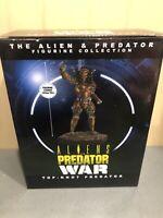 Aliens VS Predator War Top-knot Predator Figurine Eaglemoss Collection Figure