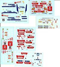 LOT DECALS 1/43 CITROËN XSARA WRC PART 1 - COLORADO  DCV020