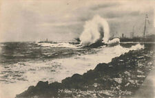 More details for ceylon old postcard general view colombo harbour breakwater ships unposted.