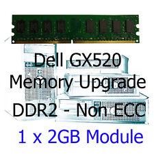 2GB Memory RAM Upgrade for Dell Optiplex GX520 Desktop Computer PC -DDR2 Non-ECC