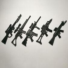 "5pcs Marvel Heros Weapon Gun for 6"" Winter Soldier Deadpool Figure Accessories"