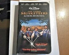 The Three Musketeers (VHS, DISNEY 1994) CLAM SHELL CASE