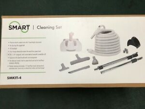 Smart Central Vacuum 30 foot Hose accessory kit model SMKIT4 Hard Floor & Carpet