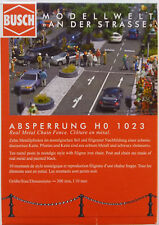 BUSCH 1023 Real Metal Chain Fence 00/HO Model Railway Accessories