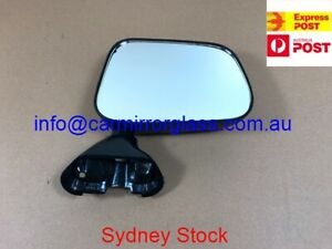 NEW DOOR MIRROR FOR TOYOTA HILUX 1988-2005 RIGHT SIDE (MANUAL BLACK)