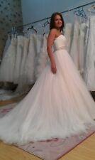 Amazing ivory Demetrios wedding dress, size 4, MINT used condition
