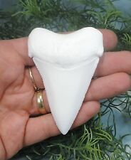 BIG, NICE 3'' GREAT WHITE SHARK TOOTH REPLICA/MEGALODON TOOTH