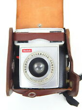 2A Kodak BROWNIE STARMATIC Camera w/ Brown Case Vintage!