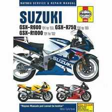 Suzuki GSX-R Motorcycle Service & Repair Manuals