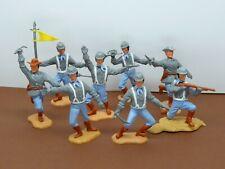 Timpo 3th series ACW Confederates figures (Complete Set)