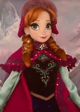 Disney Store Limited Edition FROZEN SNOW GEAR ANNA DOLL LE 5000- NEW!