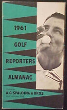 RARE 1961 SPALDING GOLF REPORTERS ALMANAC!