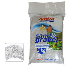 Amtra Sabbia Ghiaia Quarzo Bianco Medio 5kg per Acquario
