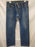 jeans uomo Levi's 501 W 34 L 32 taglia 48