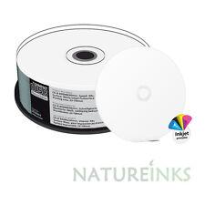25 x MediaRange CD-R 48x Blanco Discos Imprimible completo 90 min 800MB MR242