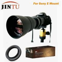 JINTU 420-800mm HD Telephoto Lens for Sony NEX 3 5 6 7 A7R A7S A7 A6300 A6500