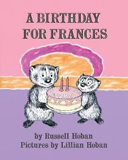 A Birthday for Frances by Russell Hoban c2012, NEW Hardcover I Can Read Level 2