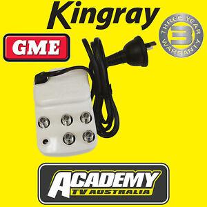 DIGITAL TV SIGNAL BOOSTER AMPLIFIER KINGRAY SA164F