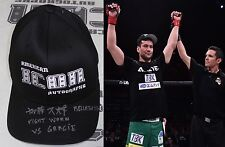 Hisaki Kato Signed Bellator 170 Fight Worn Used Hat BAS Beckett COA Autograph