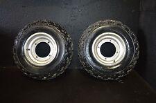 #853 1988 Suzuki quadzilla lt 500r   #1 front rim & tires 21x7-10