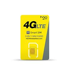 H20 Wireless 3 in 1 Prepaid SIM Card Starter Kit