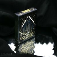 NEW Card Masters Playing Cards by De'vo GOLD SEAL, limited rare (gold GILDED)