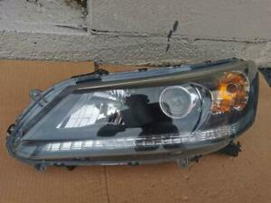 2013-2014-2015 Honda Accord Sedan OEM LH LEFT Halogen Headlight Driver side