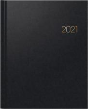 BRUNNEN 2021 Buchkalender 761 Wt7 WEEKTIMER 21x26 Balacron schwarz 1076160901