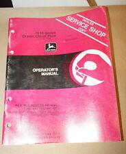 John Deere 1610 Series Drawn Chisel Plow Operators Manual Sn 13494
