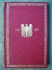 1926  Rangliste des Deutschen Reichsheeres - 100% original