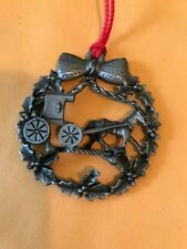 Handmade 1 Of A Kind Christmas Ornament Horse � And Buggy