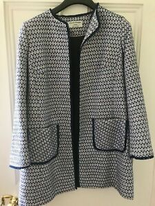 Helene Berman edge to edge boucle style coat. size 16. worn once only