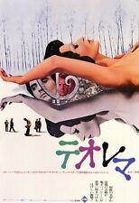TEOREMA Movie POSTER 11x17 Japanese Terence Stamp Silvana Mangano Massimo