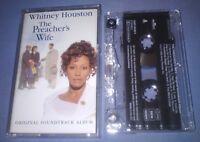 WHITNEY HOUSTON THE PREACHERS WIFE ORIGINAL SOUNDTRACK cassette tape album T4904