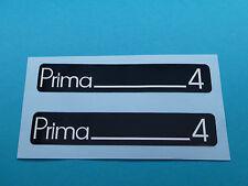 Hercules Prima 4 Trittbrett Aufkleber Dekor Schriftzug Verkleidung Sticker