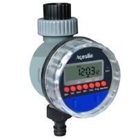 Automatic Valve Water Timer Electronic LCD Display Home Garden Watering Tap Ball