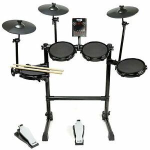 RockJam Mesh Head Digital Electronic Drum Kit with 30 Drum Kit Voices RRP £299.9