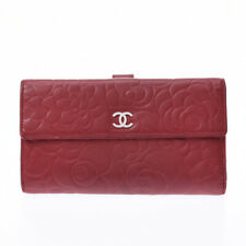 CHANEL Camelia Red purse 800000084832000