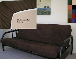 Octorose ® Bonded Micro Suede Easy Fit Fitted Futon Covers in More Color & Size