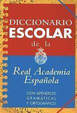 Diccionario Escolar de la Real Academia Espanola (2005, Hardcover)