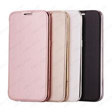 Cover Libro Custodia Eletric Flip TPU Case Card Slot per Samsung Galaxy S7 Edge