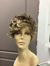Raquel Welch THE NEW ROMANTIC Lace Front Mono Curly Short Wig, R11S Brown + HL