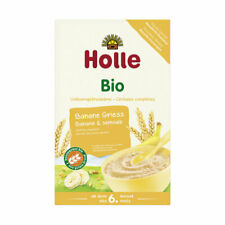 Vollkorngetreidebrei - Banane Griess 250g | HOLLE BABYFOOD