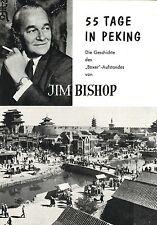 Kleines Souvenirprogramm  | Original 1963 | 55 TAGE IN PEKING | Charlton Heston